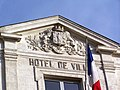 Saint-Macaire 33 Mairie Fronton.jpg