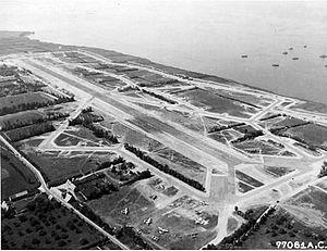 Saint-Pierre-du-Mont Airfield - Saint-Pierre-du-Mont Airfield ALG A-1 France, July/August 1944