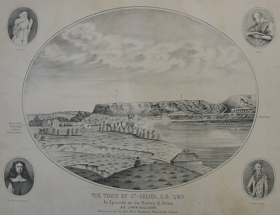Saint Helier 1709