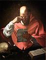 Saint Jérôme lisant d'après Georges de La Tour.jpg