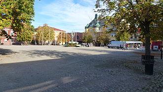 Sala, Sweden - Sala's stora torget (town square)