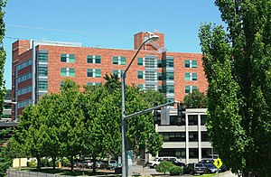 Salem Hospital (Oregon) - New patient tower finished in 2008
