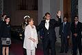 Saludo Oficial entre la Presidenta de Chile Michelle Bachelet y El Presidente Rafael Correa (14177429511).jpg