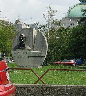 Samo Chalupka - Monument to Chalupka near Račianske mýto in Bratislava