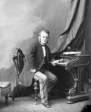Samuel Leonard Tilley - Sir Samuel Leonard Tilley, 1869