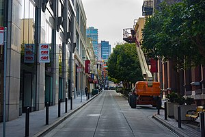 Commercial Street (San Francisco) - Image: San Francisco Commercial Street 1