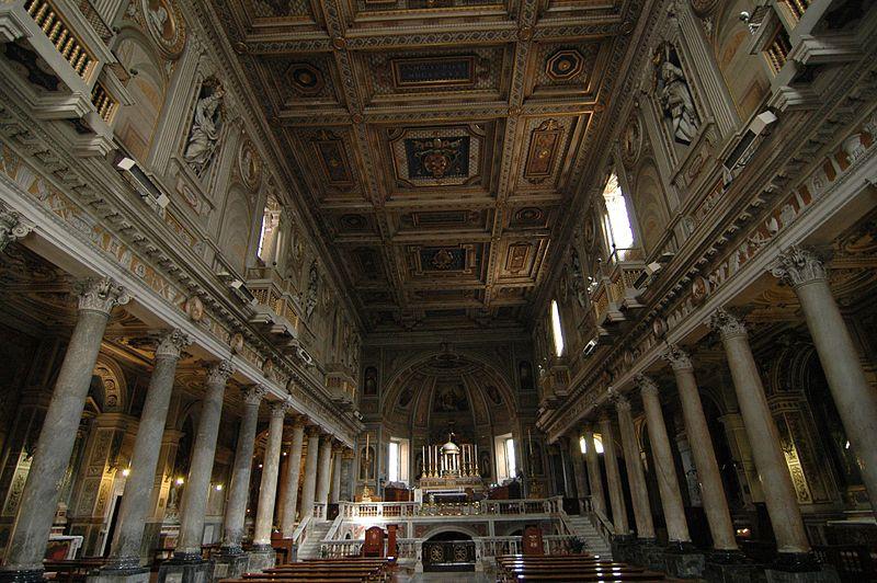 File:San Martino ai Monti interior 1.jpg