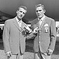 Sandro Lopopolo and Carmelo Bossi 1960.jpg