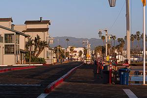 Santa Barbara Harbor Promenade