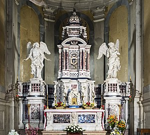 Santa Giustina (Padua) - Chapel of the holy sacrament - Altar