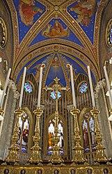 Santa Maria sopra Minerva altar 2010 2.jpg