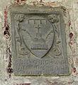 Santa croce, loggiato sud, stemma dino di chivari.jpg