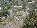 Santuario di Monte Sant'Angelo. Le Mura - La torre che conserva meglio gli alzati originali (part.).JPG