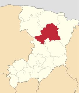 Sarny Raion Subdivision of Rivne Oblast, Ukraine