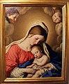 Sassoferrato, madonna col bambino dormiente, genova.JPG