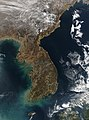 Satellite image of Korea 2004-01-04.jpg