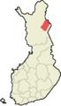 Savukoski Suomen maakuntakartalla.png