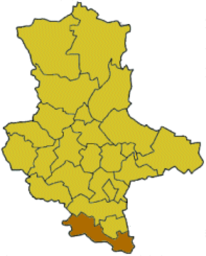 Burgenlandkreis (former district) - Image: Saxony anhalt blk
