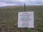 Saylor Creek Air Force Warning Sign.jpg