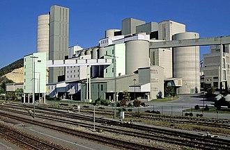 HeidelbergCement - HeidelbergCement plant in Schelklingen, Germany
