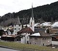 Schlössli und Reformierte Kirche Küblis 3.jpg