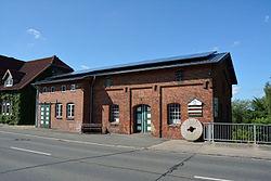 Schleswig-Holstein, Hanerau-Hademarschen, Wassermühle am Mühlenteich NIK 5343.JPG