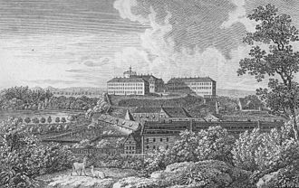 Ballenstedt - Ballenstedt Castle, about 1837