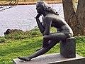 Schloss Gottorf Nereide 1985 Karlheinz Goedtke Skulpturen im Schlossgarten 2007 Foto Wolfgang Pehlemann 038 35A.jpg