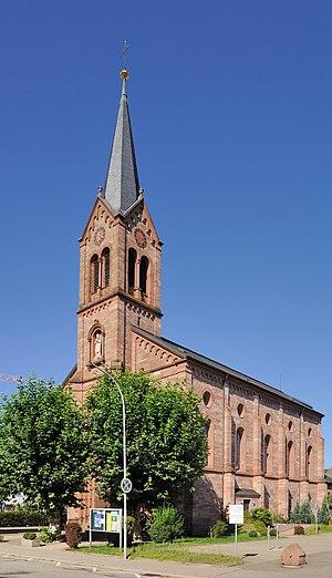 English: Schopfheim: Catholic Church Deutsch: ...