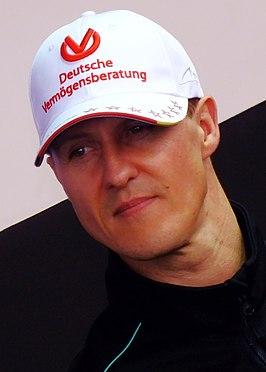 Michael Schumacher German racing driver