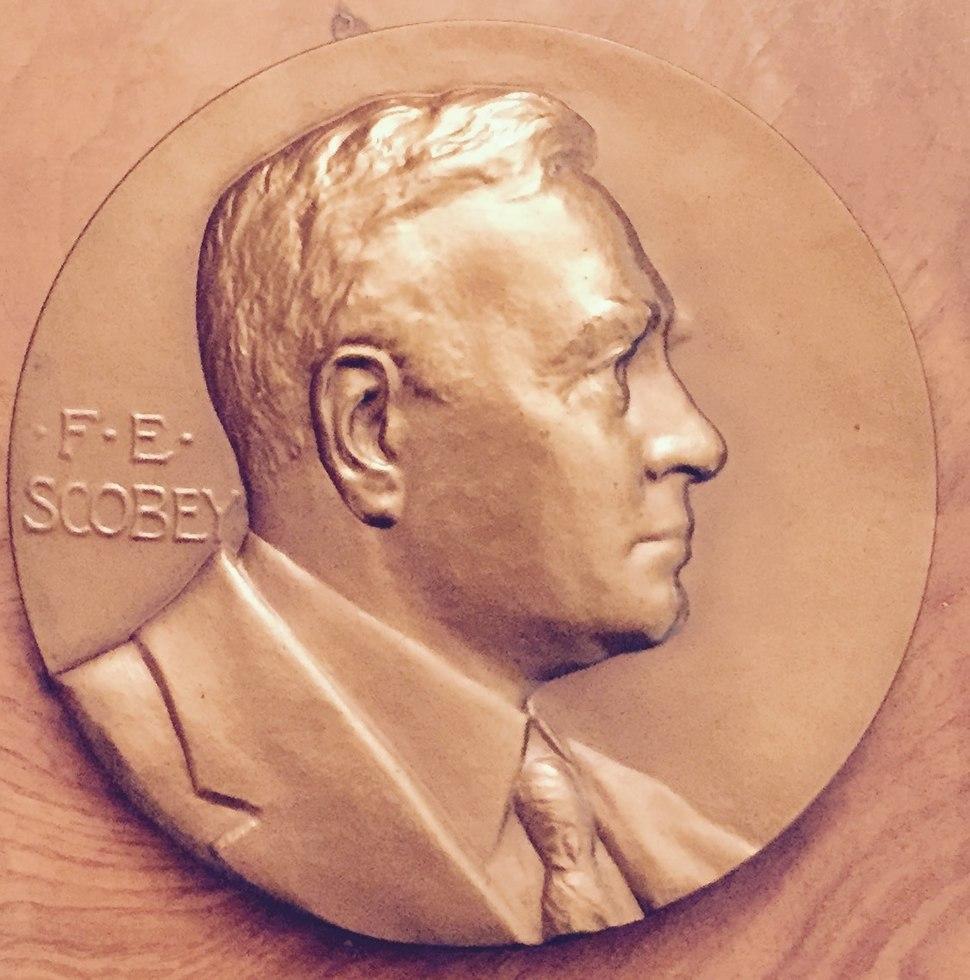 Scobey Mint medal obv