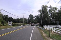 Intersection of CR 537 and Laird Road