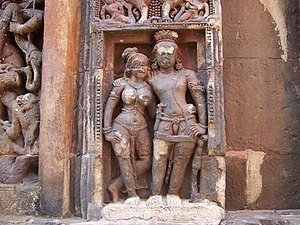 Bhauma-Kara dynasty - A sculpture at the Vaital Deula temple