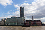 Sea Containers House, South Bank Tower, and OXO Tower - September 2015.jpg