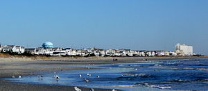 Sea Isle City, New Jersey - View from the beach