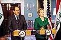 Secretary Clinton Holds Bilarteral Meeting with Iraqi Prime Minister (3763464889).jpg