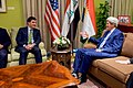 Secretary Kerry Meets With Kurdistan Regional Government Prime Minister Barzani in Baghdad (25704441953).jpg