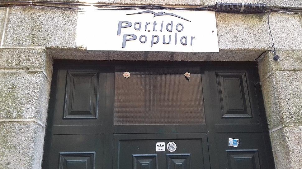 Sede Partido Popular en Ribadavia