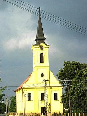Selenča - The Catholic church.