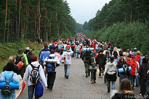 Seliger (forum) -  camp SELIGER-2007, youth movement NASHI