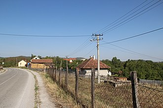 Ratkovac (Lajkovac) - Image: Selo Ratkovac opština Lajkovac zapadna Srbija panorama 1