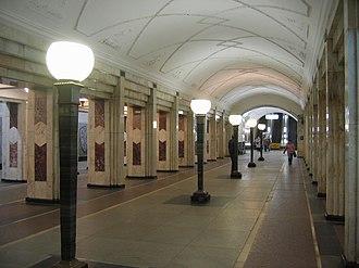 Semyonovskaya (Moscow Metro) - Image: Semenovskaya mm