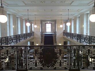 Senate House, London - The Crush Hall of Senate House