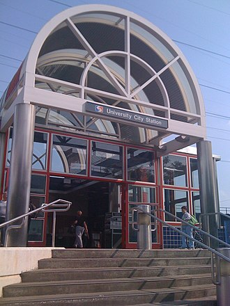 University City station - Image: Septa university city