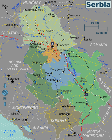 Serbia Travel Guide At Wikivoyage
