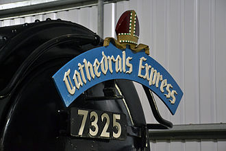 Cathedrals Express - Modern reproduction of the original headboard