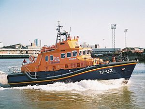 Severn-class lifeboat - Image: Severnclass
