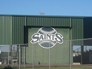 Seward County Community College - Image: Seward County Community College Saints Stadium IMG 5970