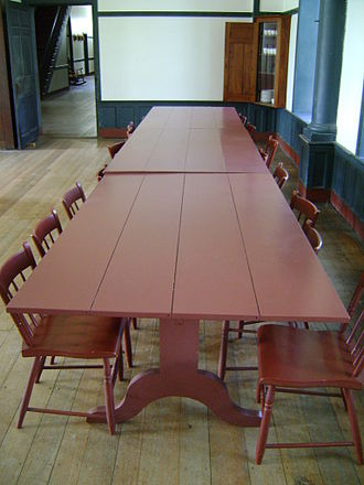 Shaker furniture - Image: Shaker dining table