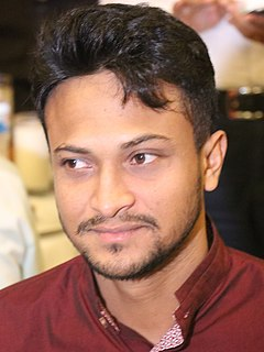 Shakib Al Hasan Bangladeshi International Cricketer